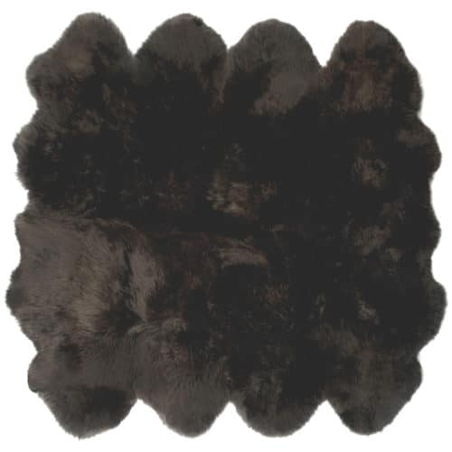 Brown Octo Sheepskin Rug