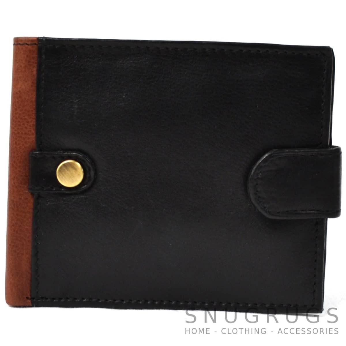 Oliver - Prime Hide Deep Leather Wallet - Black