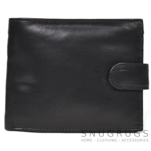 Oscar - Prime Hide Leather Wallet - Black