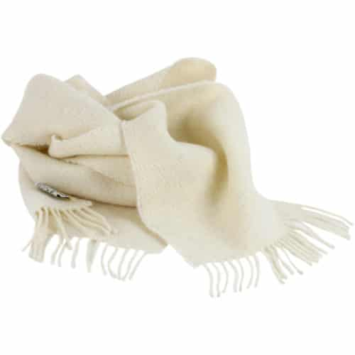 Romney Marsh Sheep Scarf - White Clover