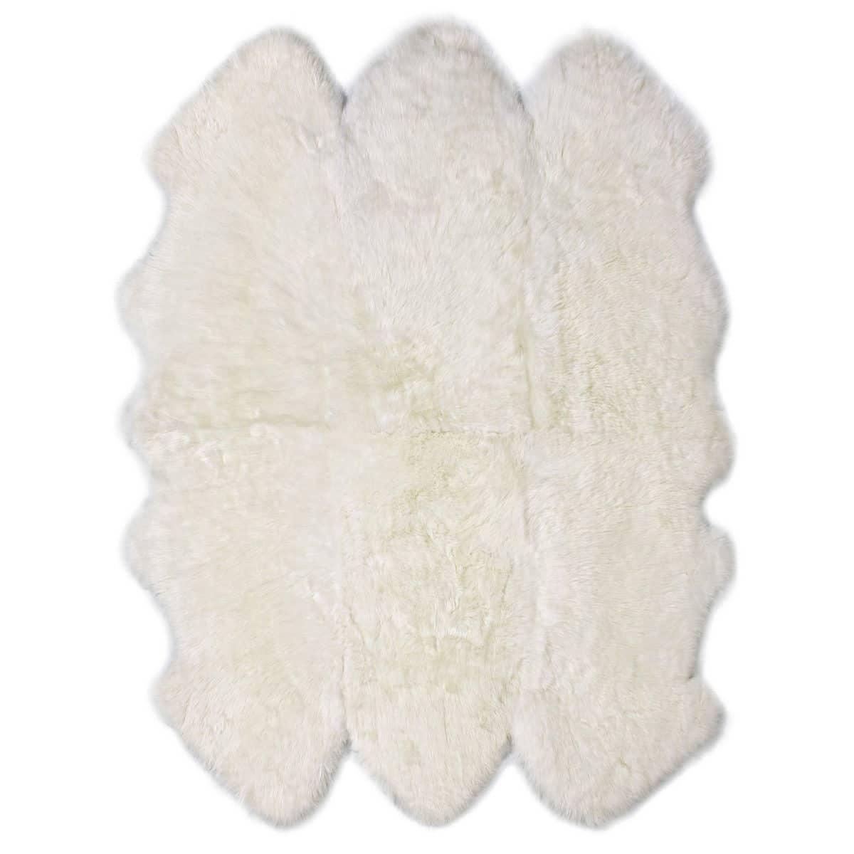 Natural Ivory Sexto Sheepskin Rug