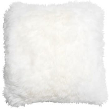 Bowron Sheepskin Long Wool Cushion - Ivory