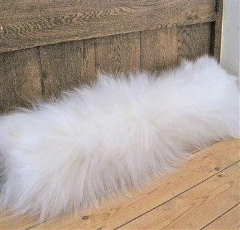 Sheepskin Long Wool Draught Excluder