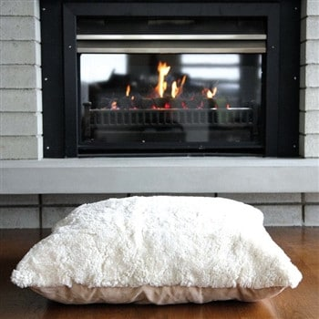 Bowron Sheepskin Floor Cushion - Shorn Wool