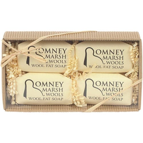 Romney Marsh Lanolin Soap Gift Set
