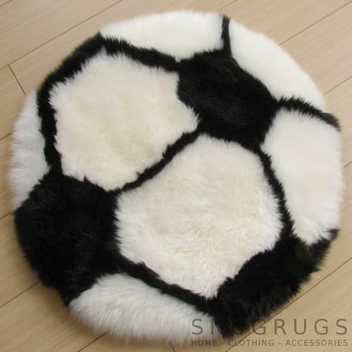 Sheepskin Football Rug