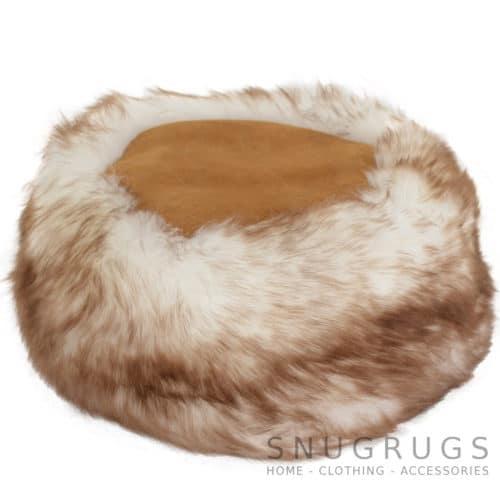 Brigit - Ladies Full Sheepskin Cossack Style Hat - Tan