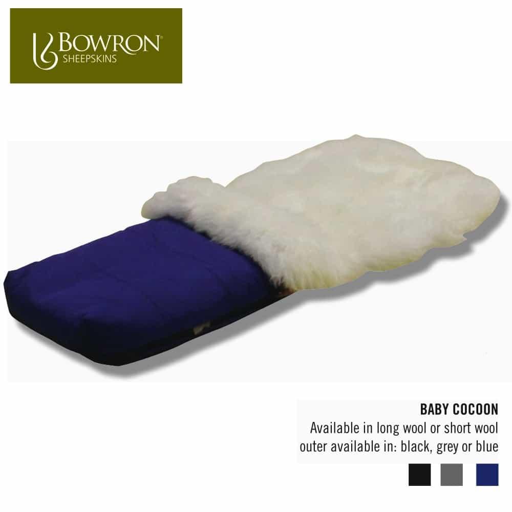 Baby Cocoon Sheepskin Foot Muff Snugrugs