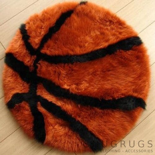 Sheepskin Basketball Rug