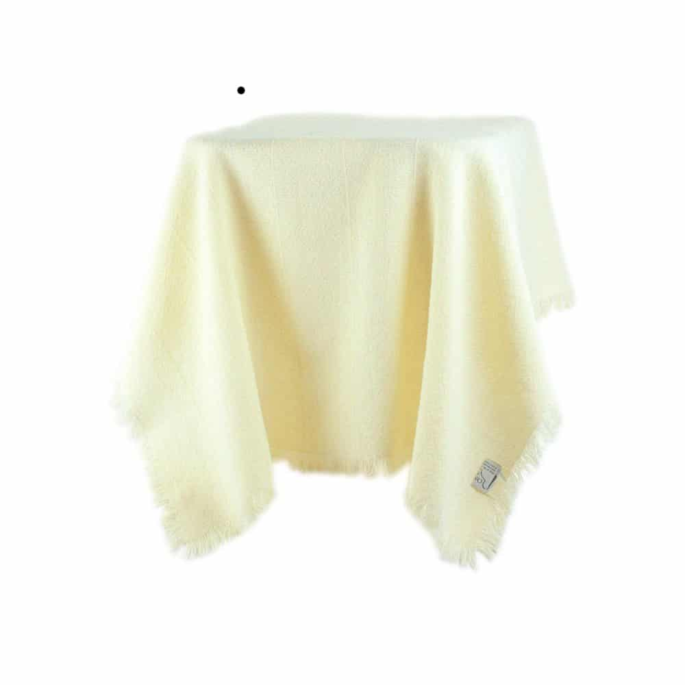Romney Wool Table Cloth
