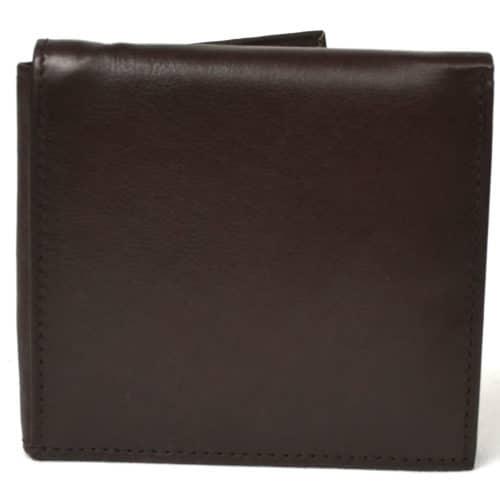Theo - Prime Hide Slim Leather Wallet - Dark Brown