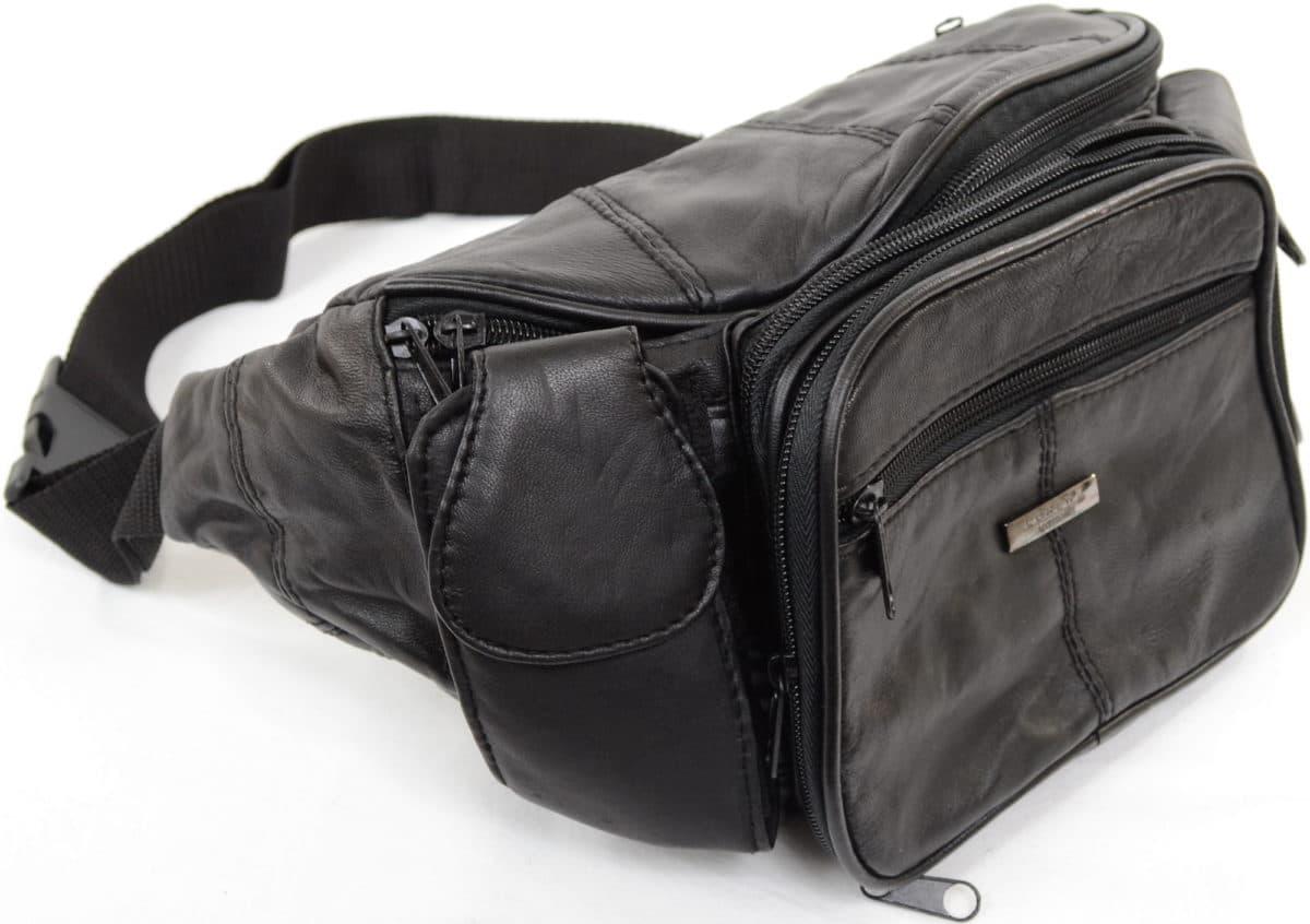 Extra Large Soft Nappa Leather Bum Bag Waist Bag Snugrugs
