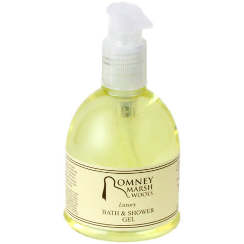 Luxury Romney Marsh Lanolin Bath & Shower Gel 240ml
