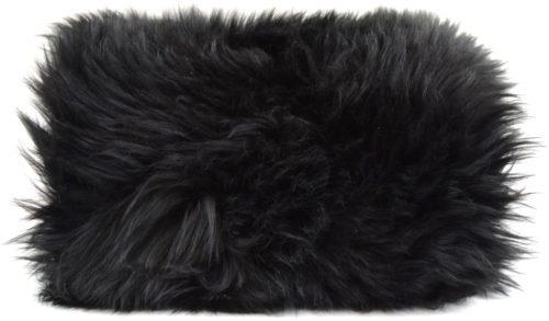 Sheepskin Hand Muff - Black
