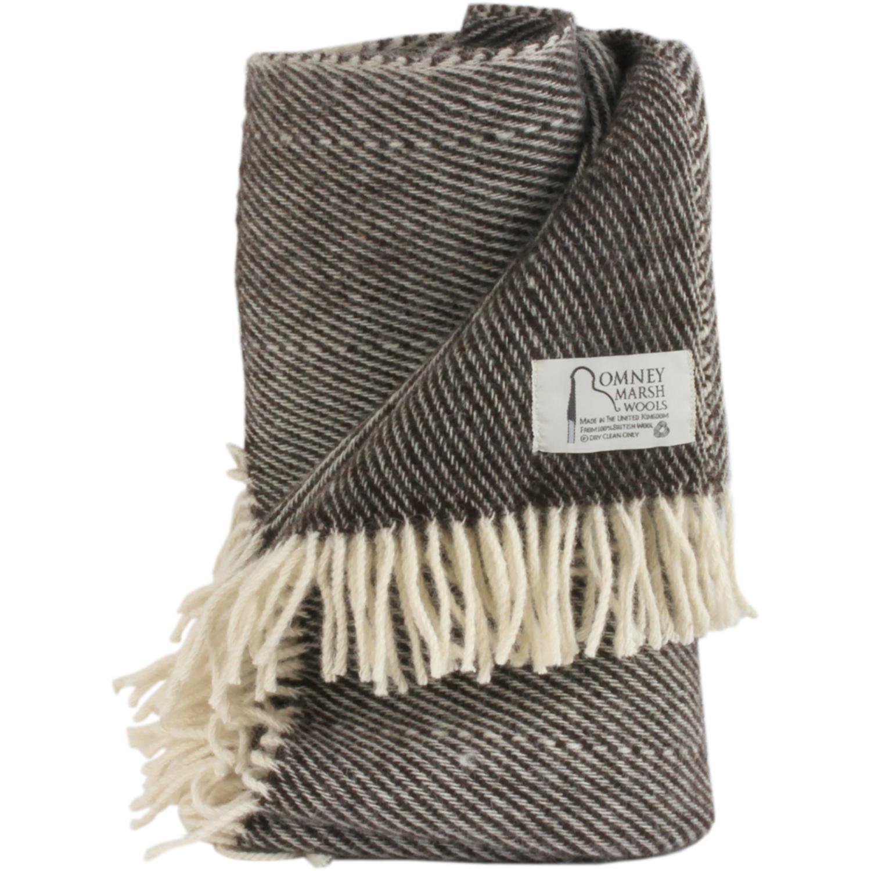 Romney Sheep Blanket / Throw - BlackThorn