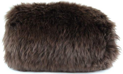 Sheepskin Hand Muff - Brown
