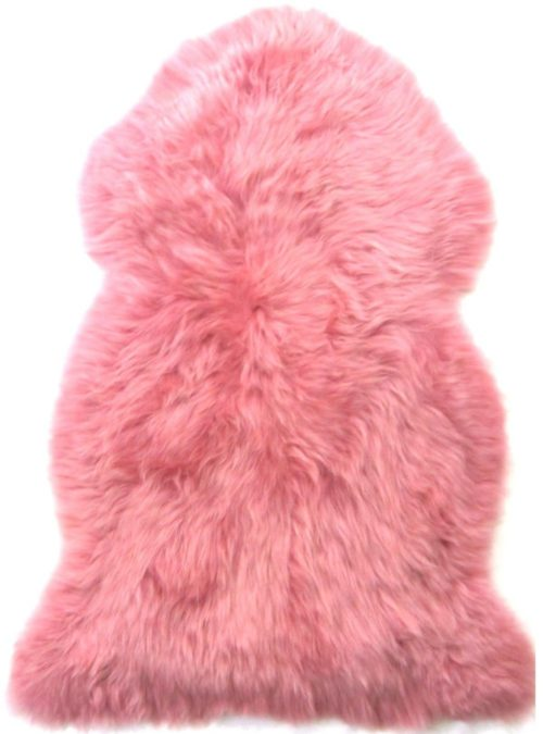 SNUGRUGS Candy Floss Pink Sheepskin Rug