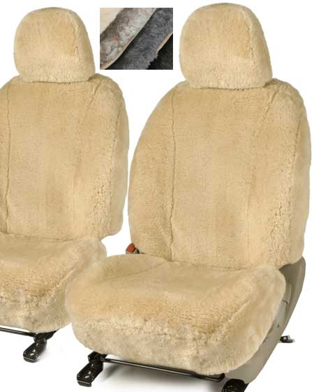 Sheepskin car seat cover available in 4 colours snugrugs for Motor sheep seat covers