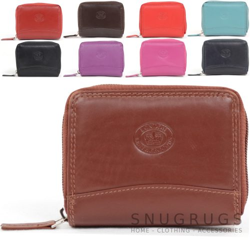 Soft Leather Concertina Credit Card / Travel Card Holder