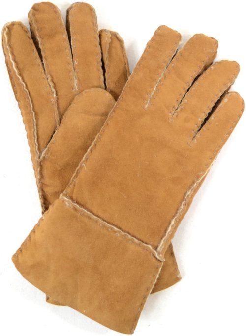Annie - Full Sheepskin Glove - Tan