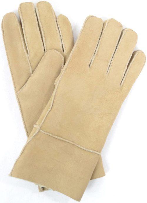 Annie - Full Sheepskin Glove - Spice