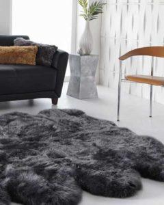 Large sheepskin rugs