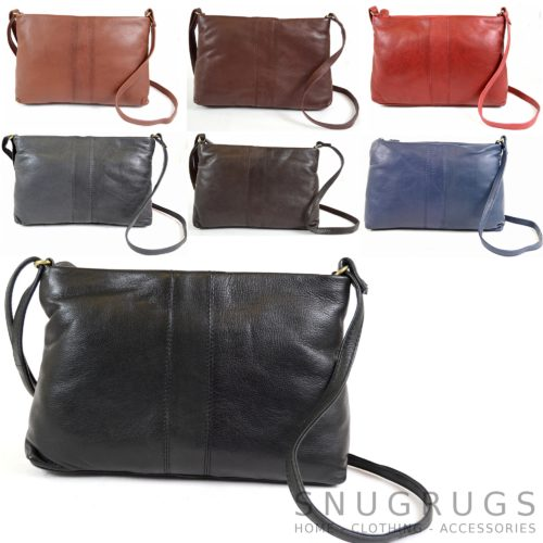 Laura – Soft Leather Shoulder Bag