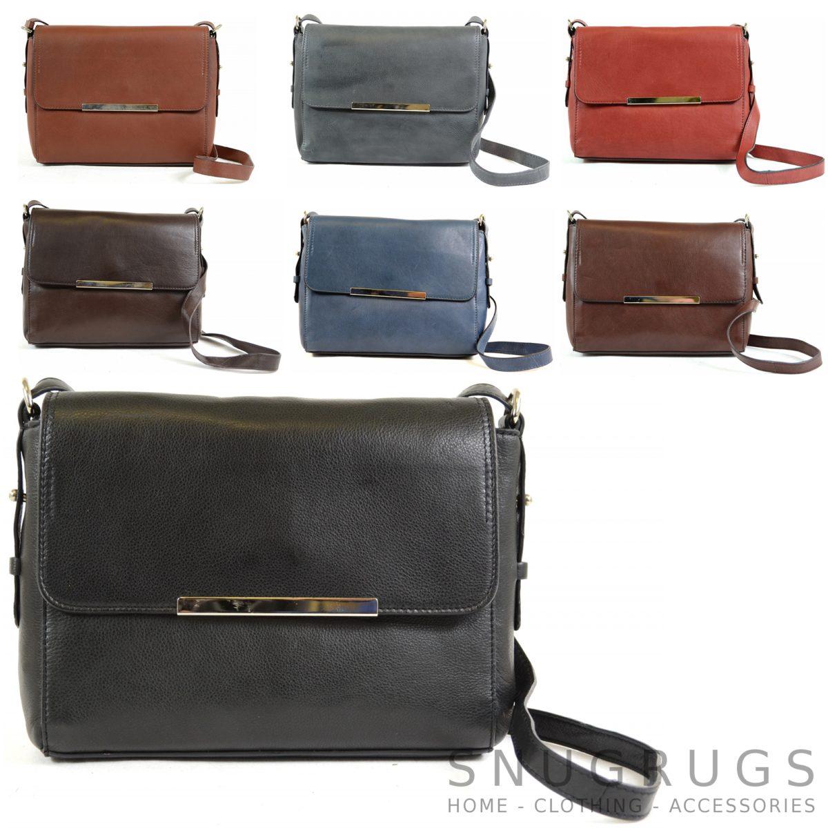 Nicole – Soft Leather Shoulder / Cross Body Bag