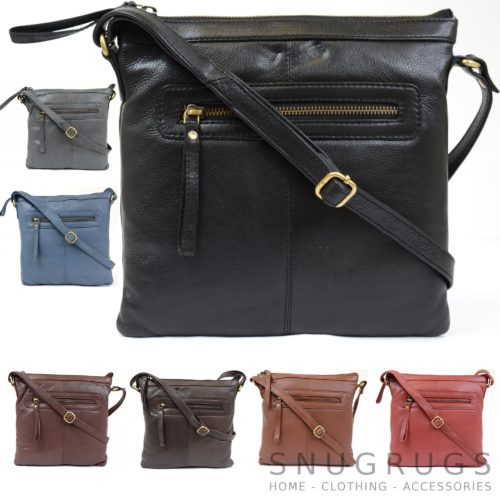 Sally – Soft Leather Shoulder / Cross Body Bag