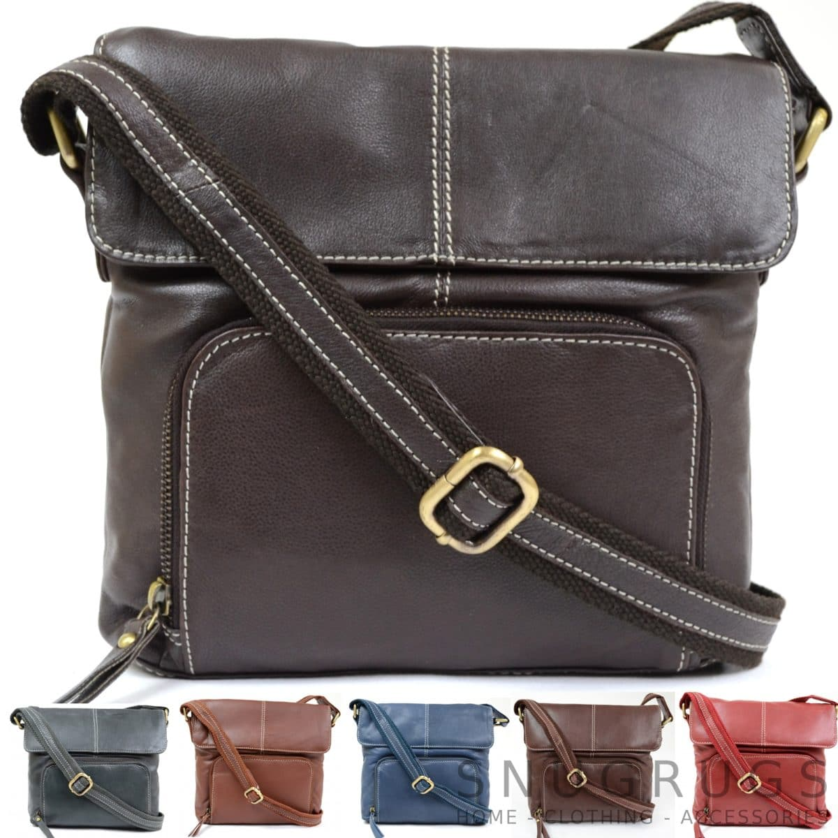 Georgie – Soft Leather Shoulder / Cross Body Bag
