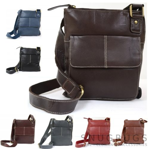 Iris – Leather Shoulder / Cross-Body Bag