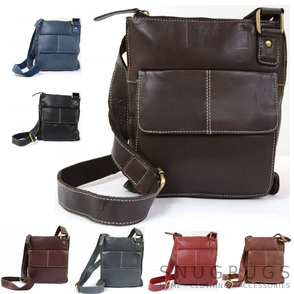 Iris – Leather Shoulder / Cross-Body Bag