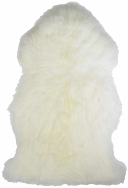SNUGRUGS Natural Ivory Single Sheepskin Rug