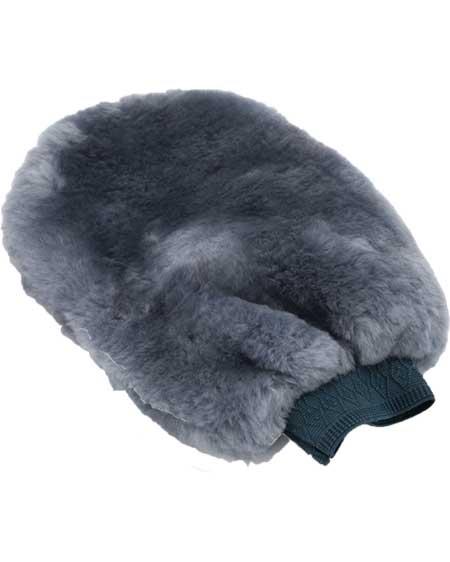 Snugrugs sheepskin polishing mitt Grey