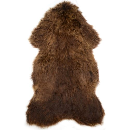 SNUGRUGS Rare Breed Sheepskin Rug - Honey Brown