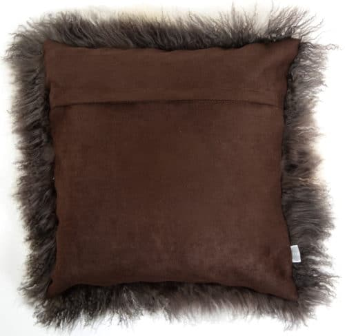 Mongolian Sheepskin Cushion 40cm X 40cm