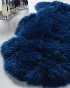Snugrugs coloured sheepskin rugs