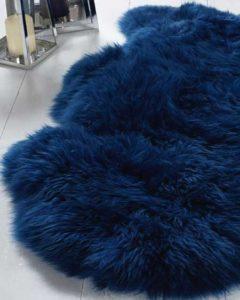 Snugrugs coloured sheepskin rugs