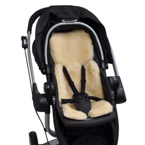 Sheepskin Baby Carriers Stroller Pushchair Liners