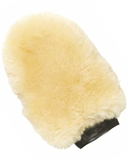 Snugrugs Sheepskin Polishing Mitt Natural