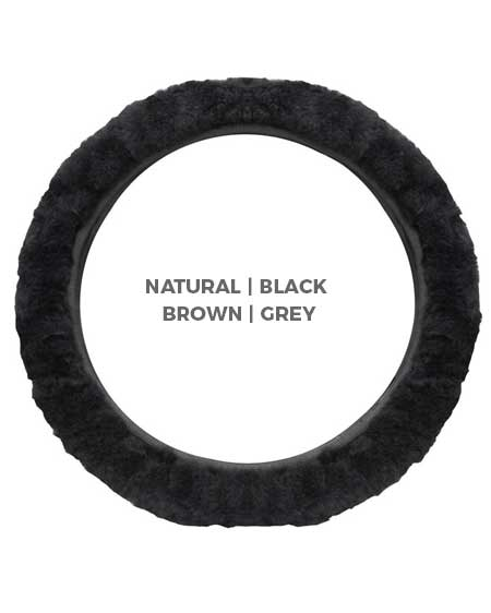 Snugrugs sheepskin steering wheel covers