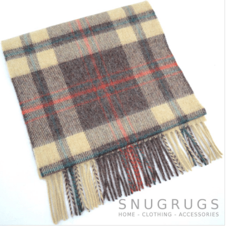 Lambswool Scarf - Browns