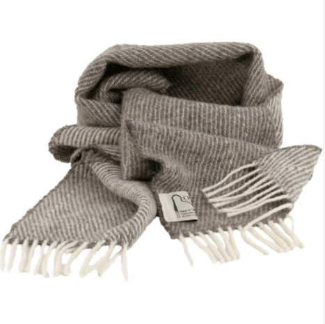 Romney Marsh Sheep Scarf - Marsh Fern