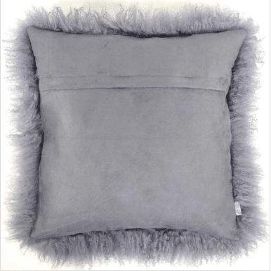 hei wid pillow carbon hero sheepskin mongolian grey web product