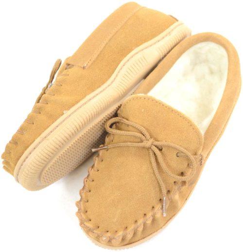 Snugrugs Kids wool moccasin slipper