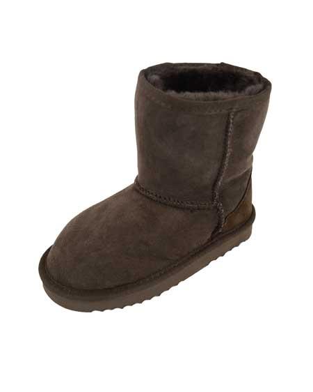 Snugrugs Kids Sheepskin Boots Brown