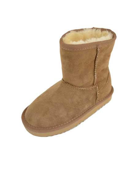 Snugrugs kids Sheepskin Boots Chestnut