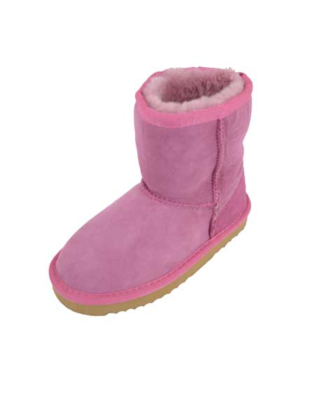 Snugrugs Kids Sheepskin Boot Pink