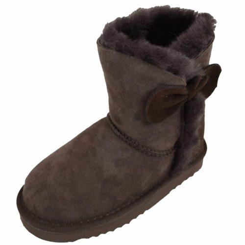 Snugrugs Childs Sheepskin Boots Brown