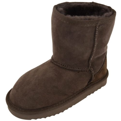 Snugrugs Kids Sheepskin Boots Brown